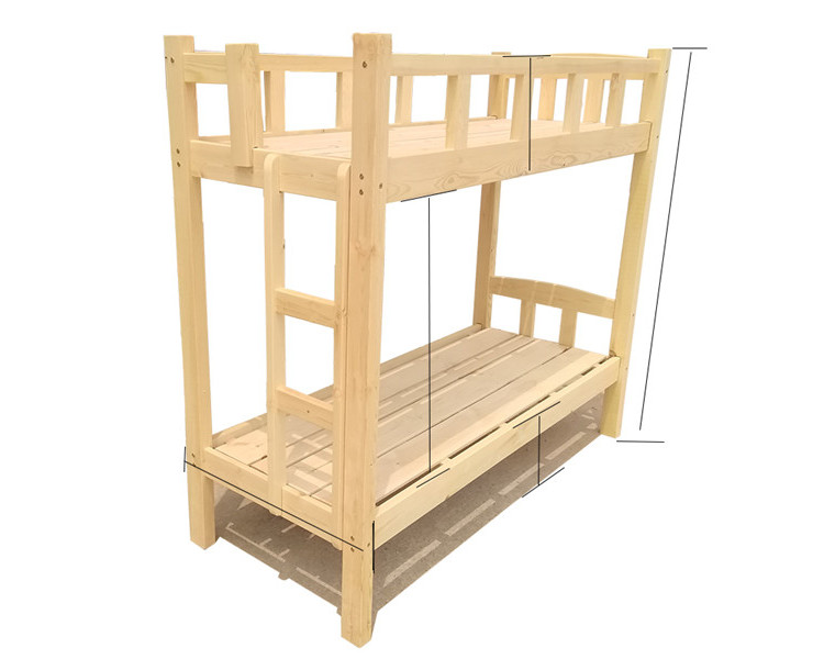 对于有两个孩子的家庭来说,多种款式河南实木高低床供您选择