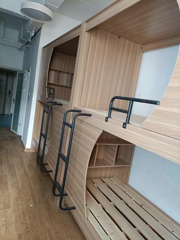 实木高低床—太空舱