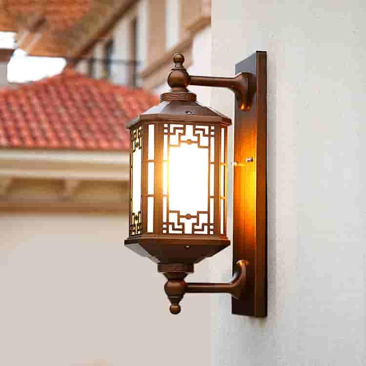 LED中式墙壁灯