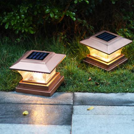 太阳能柱子灯