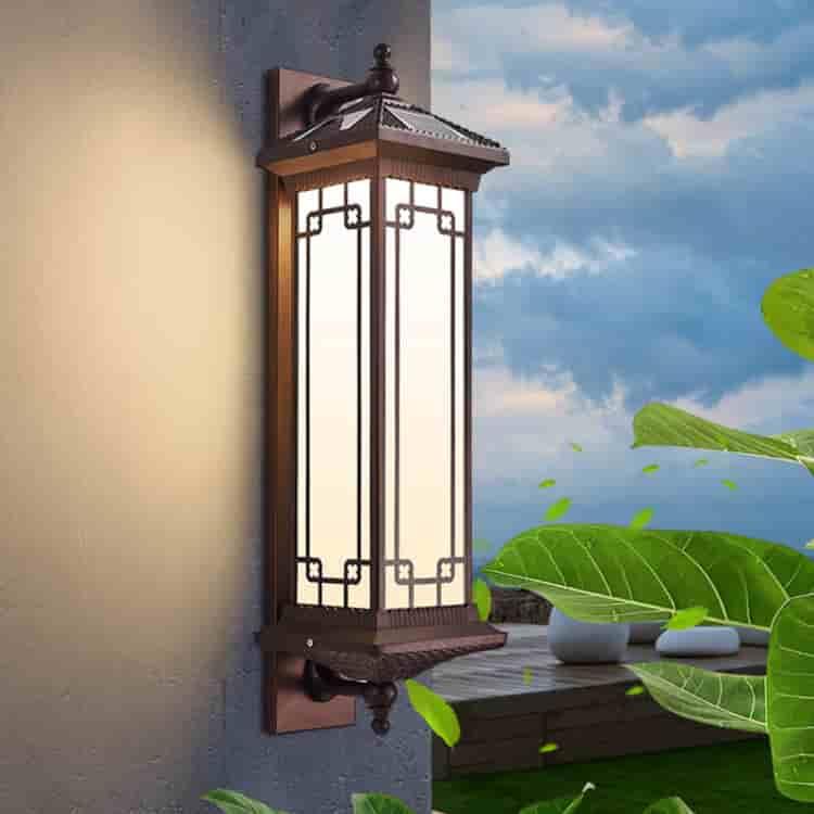 太阳能中式壁灯