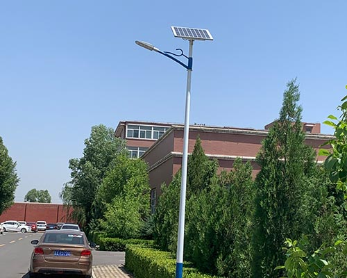 山西榆次工业区(太阳能路灯)
