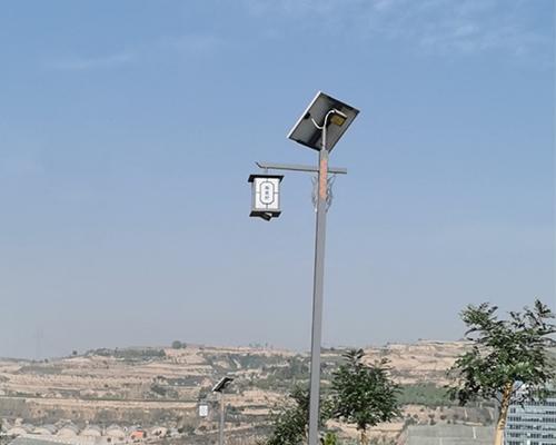 吕梁柳林陶瓷村(中式太阳能路灯)