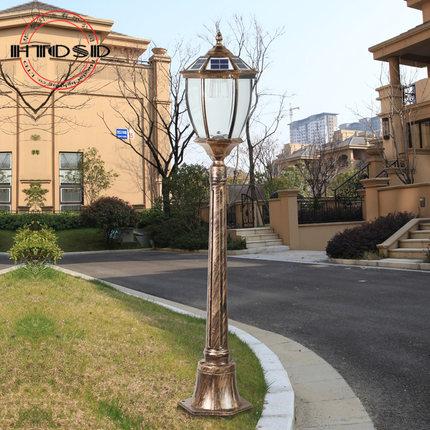 太阳能庭院灯(LED庭院灯)案例