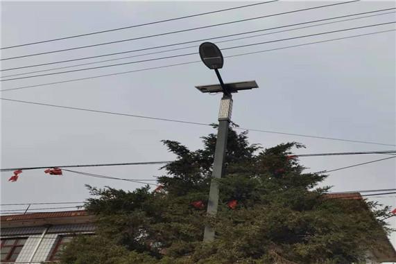 太原太阳能路灯安装
