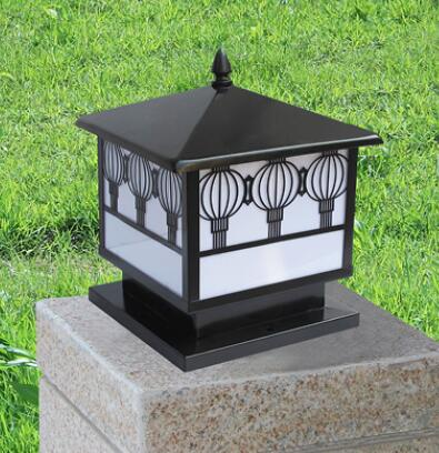 柱头灯按材质分该如何分?