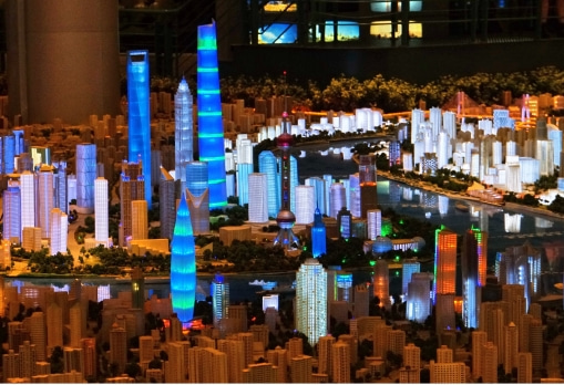 城市规划馆互动软件