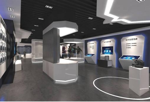 防恐防爆展厅互动软件
