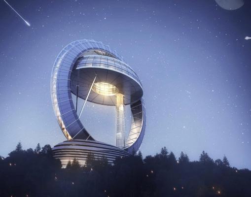 天文展厅互动软件