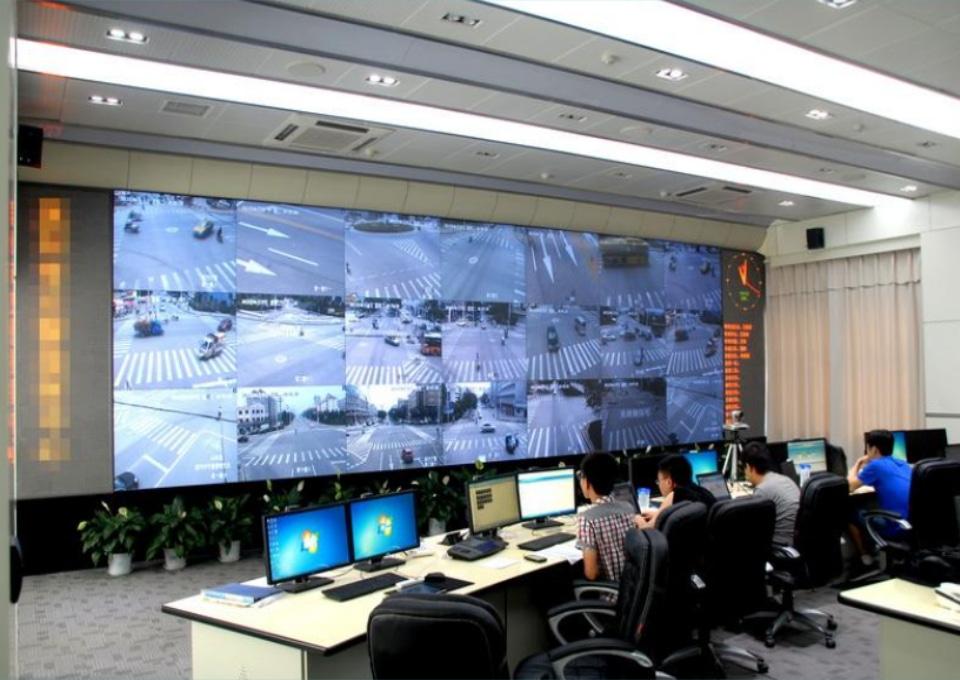 呼和浩特特警指挥系统可视化大屏