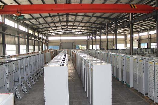 四川高低压配电柜厂家厂区展示