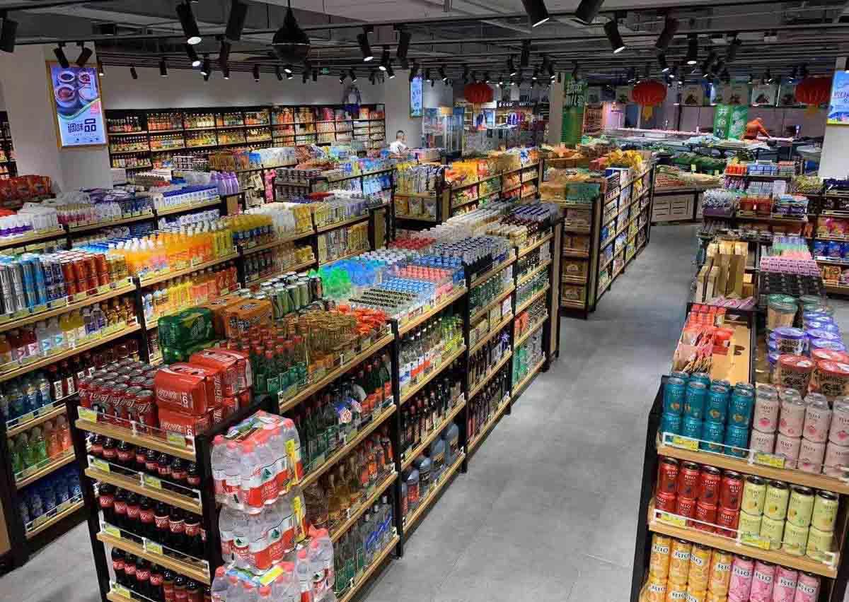 原来成都超市货架的分类这么多啊