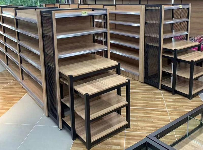 钢木系列案例-钢木货架