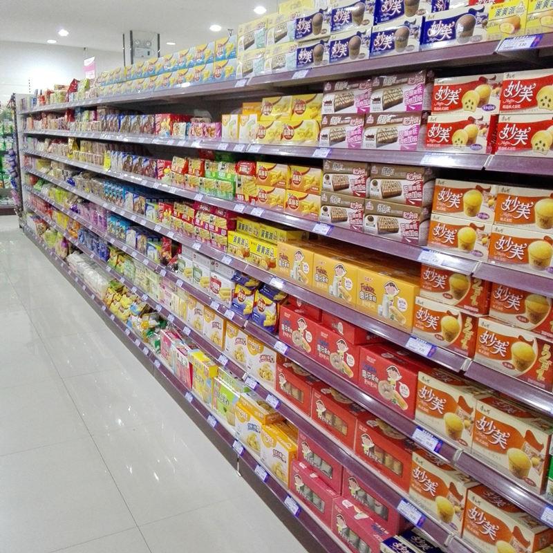 常见的几种成都超市货架摆放方法!建议收藏!
