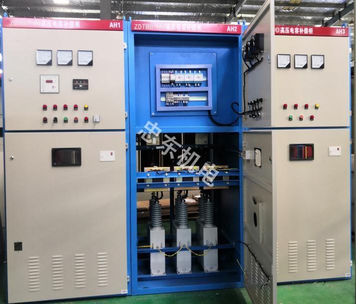 看看忠东机电厂家分享的高压电容补偿柜的7个性能特点!