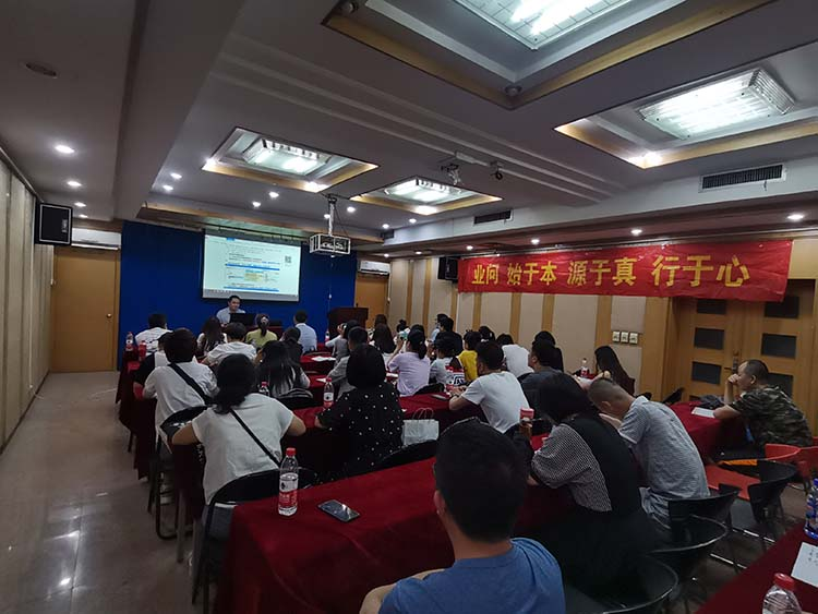 业问高新校区 蒋龙讲师的土建专题讲座如期开办