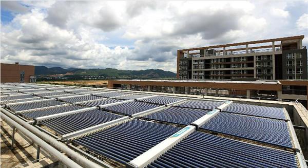西安太阳能采暖系统—金辉公园里、金辉C园