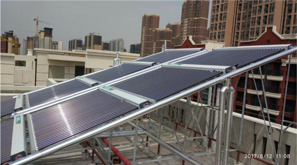 西安太阳能采暖系统—金地湖城