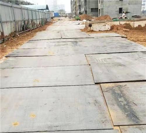 西安铺路钢板