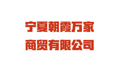 宁夏朝霞万家商贸有限公司