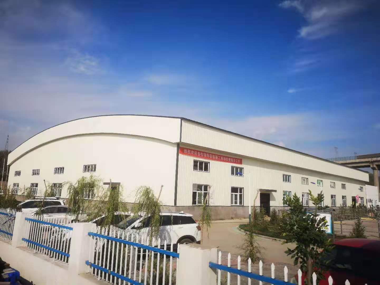 大柳塔污水处理厂钢结构厂房