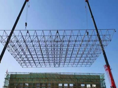 鑫天赐钢结构工程带大家了解榆林网架钢结构在施工中会产生的问题解析
