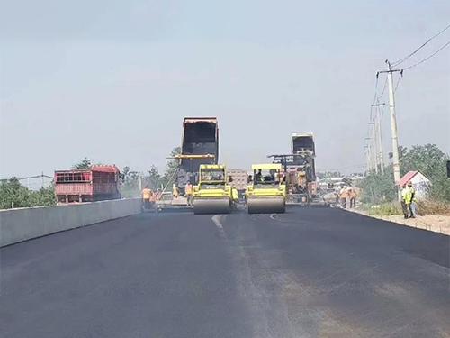 陕西沥青路面施工成功案例