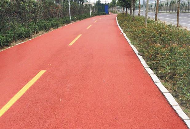 陕西彩色沥青路面