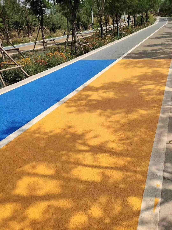 陕西彩色沥青路面应怎样如何进行保养?