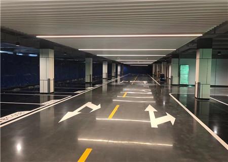 为上海中鹰黑森林二期提供固化地坪工程服务