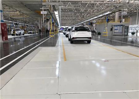 为江苏敏安汽车研究院提供金刚砂耐磨地坪