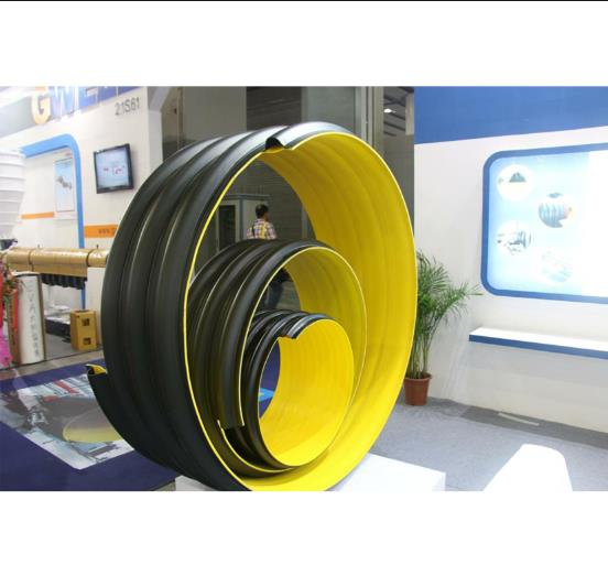 HDPE钢带增强波纹管