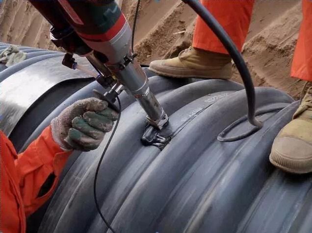 HDPE钢带增强波纹管施工案例