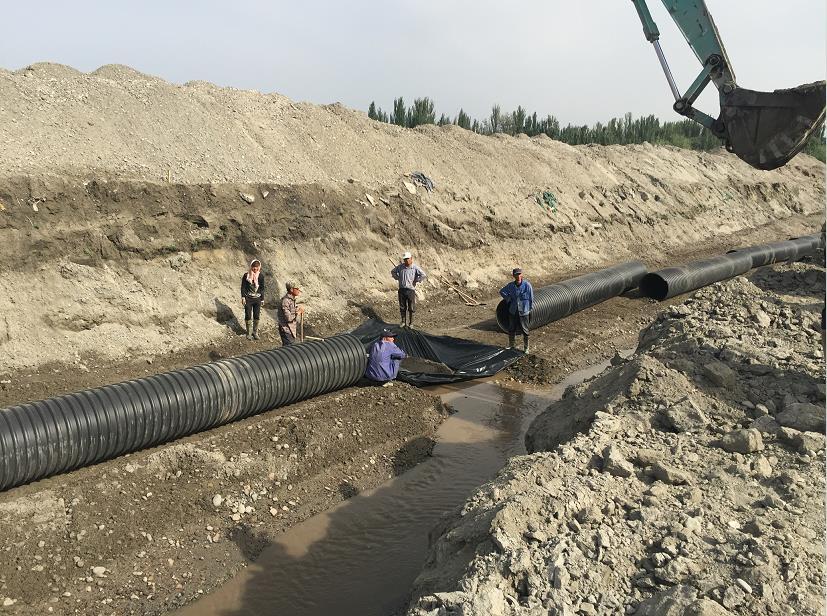 HDPE管件工程施工案例