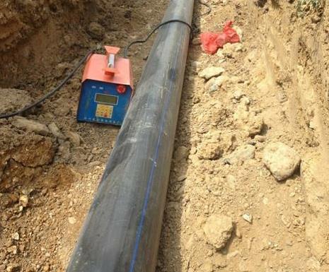 HDPE给水管施工案例