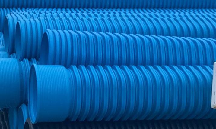增强高密度聚乙烯(HDPE-IW)六棱结构壁管材