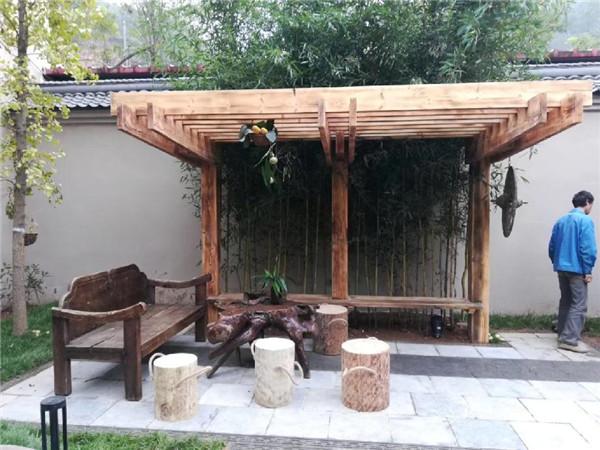 你了解防腐木凉亭的设计和构造吗?