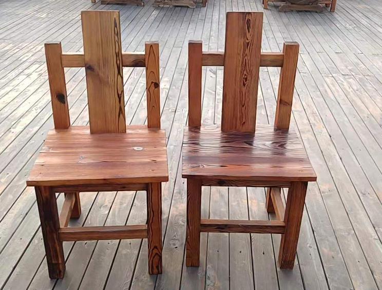 防腐木凳子