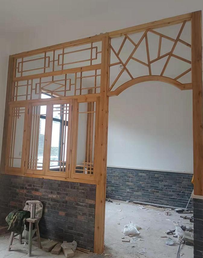 民宿防腐木窗