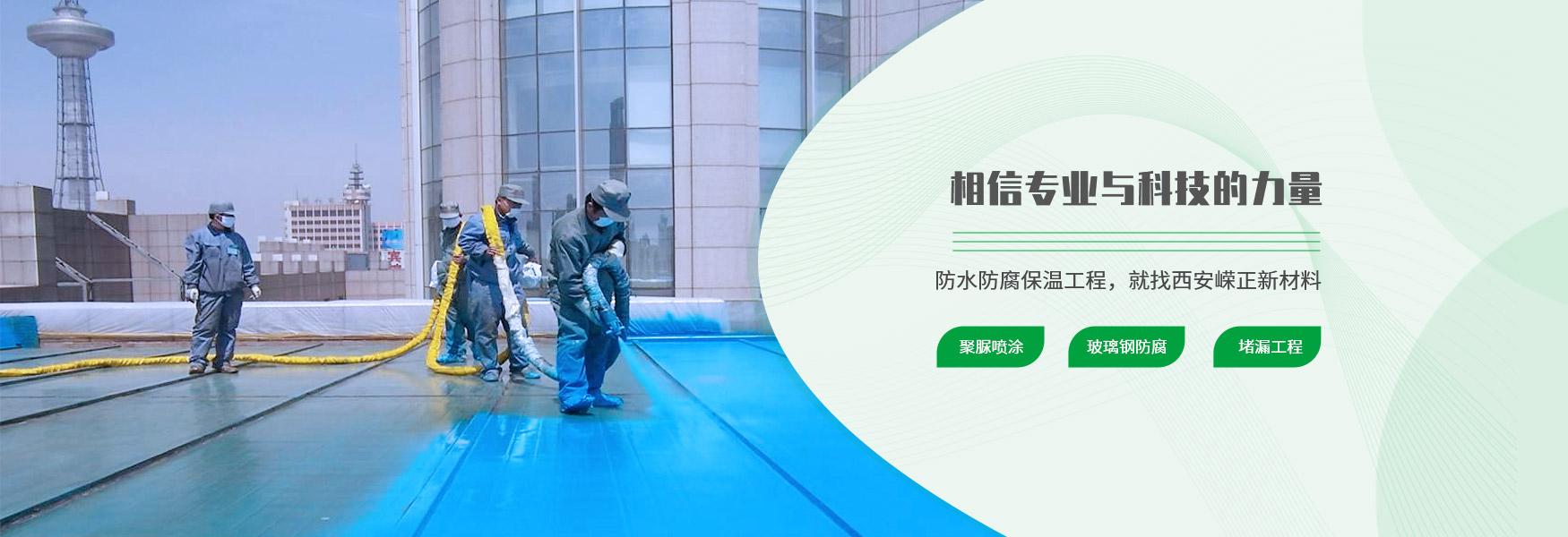西安聚脲防水