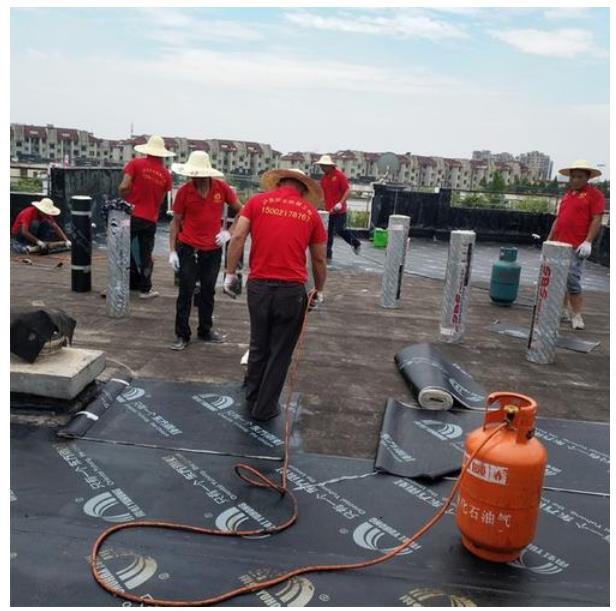 屋面防水堵漏施工