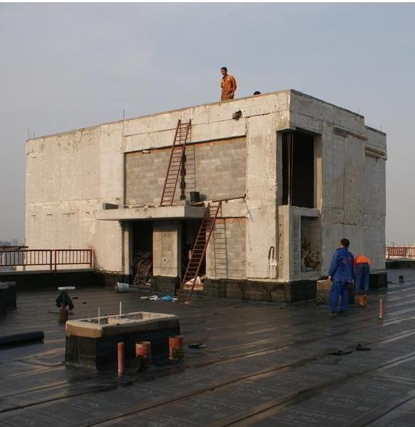 外墙防水堵漏工程案例