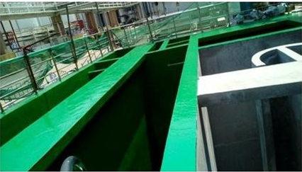 快来看看西安玻璃钢防腐公司分享的玻璃钢污水池防腐工程的基层处理方法吧