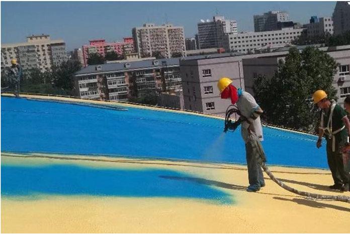 嵘正新材料关于西安聚脲材料厂喷涂聚脲防水涂料的性能及工艺分享