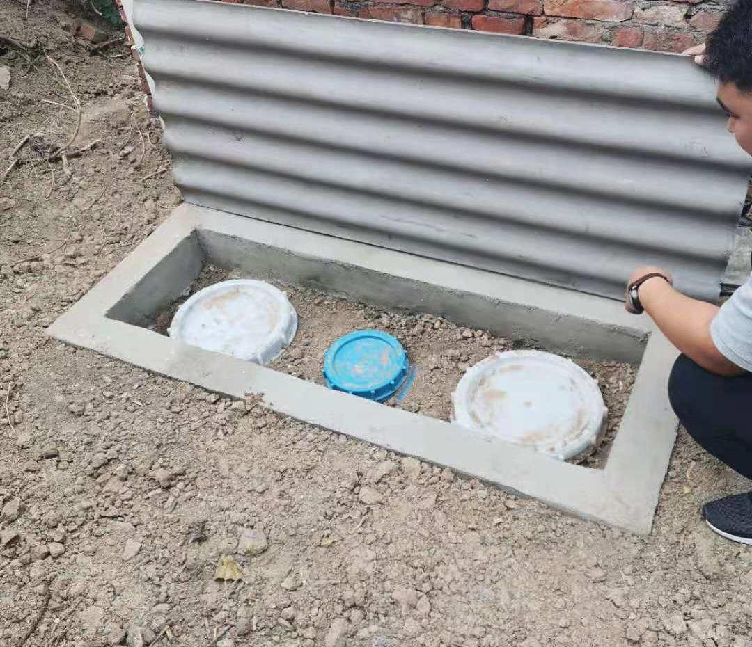 农村改厕用化粪池案例