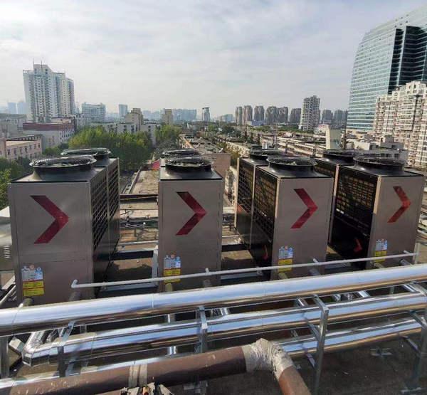 锦江之星热水系统安装工程案例