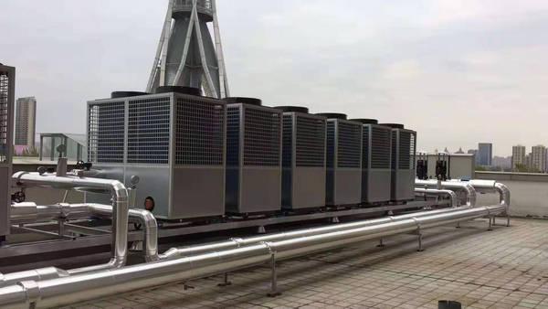 河南空气能热泵与郑州中原福塔维也纳大酒店进行合作