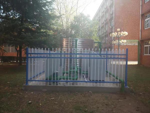 新郑华信剑桥小学空气源热泵项目