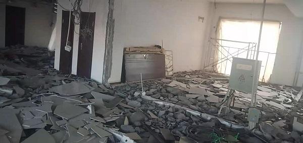 宁夏办公楼拆除