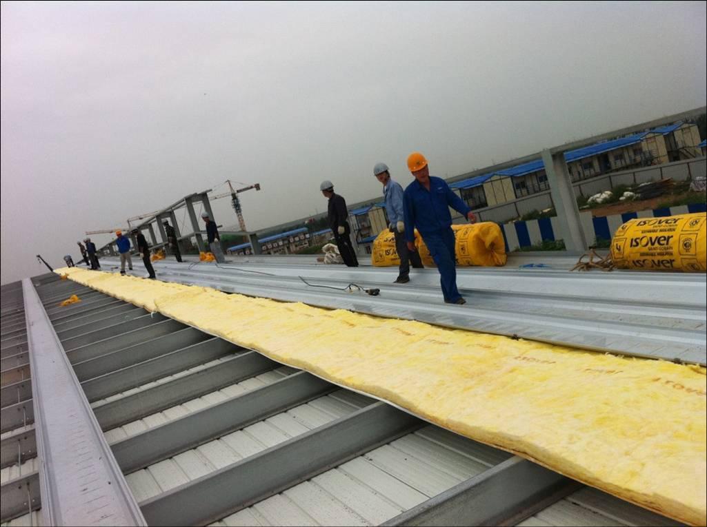 钢结构工程 屋面板